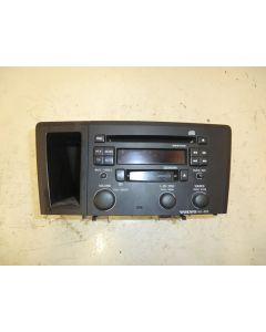 Radio / CD-soitin HU-603 musta kehys, S60 V70 01-07